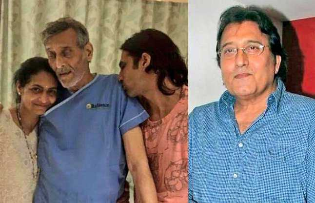 Vinod Khanna suffering from cancer? Viral photo shows him ...