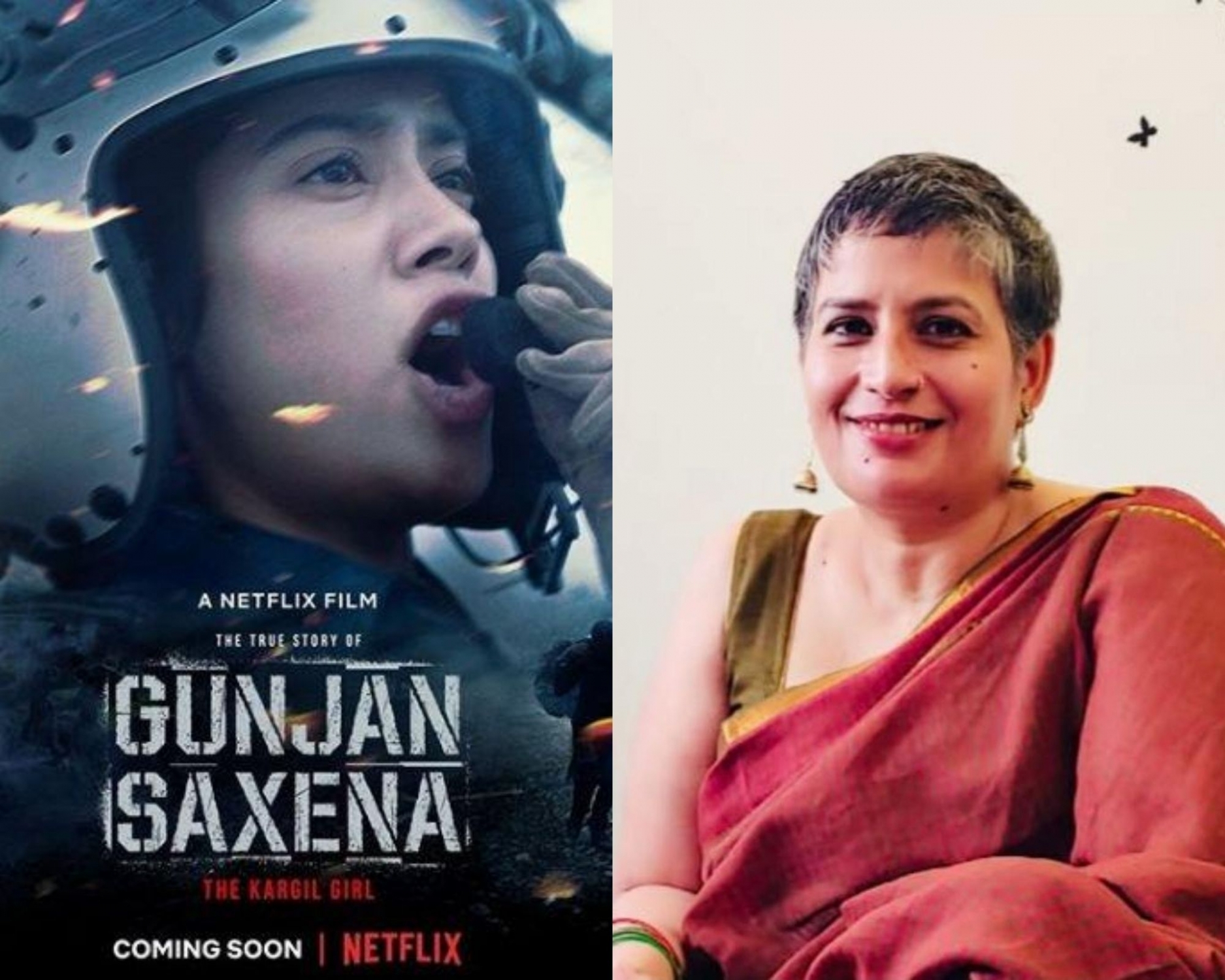 Gunjan Saxena Portrays Armed Forces In Bad Light Woman Navy Officer India Tribune